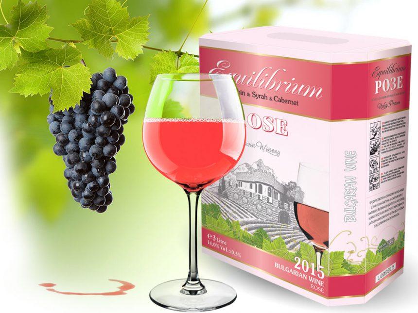 3l-wine rose